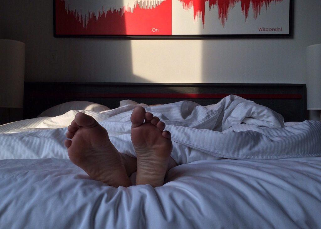 sleeping with a fan