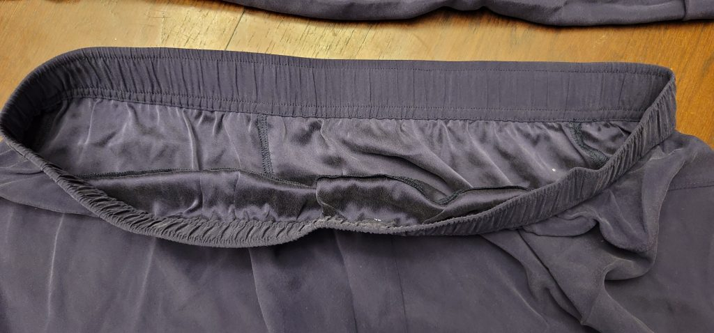 washable silk sleepwear